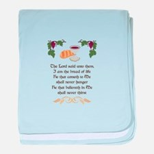 BREAD OF LIFE baby blanket