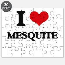 I love Mesquite Puzzle