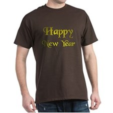 Happy New Year Gold.:-) T-Shirt