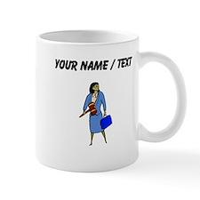 Custom Woman Judge Mugs