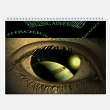 GOLEN EYE TO TIME AND SPACE WALL CALENDAR