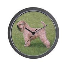 Unique Wheaten Wall Clock