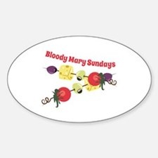 Bloody Mary Sundays Decal