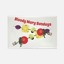 Bloody Mary Sundays Magnets