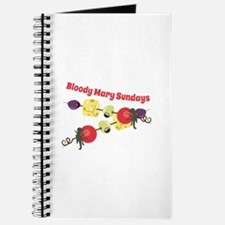 Bloody Mary Sundays Journal