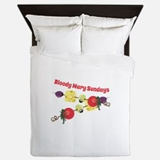 Bloody Mary Sundays Queen Duvet
