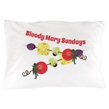 Bloody Mary Sundays Pillow Case