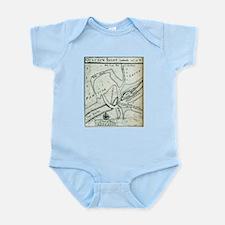 Ocracoke Inlet Map - Blackeard's Anchori Body Suit