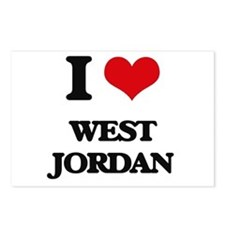 I love West Jordan Postcards (Package of 8)