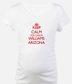Keep calm you live in Williams A Shirt