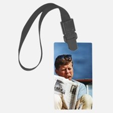 JFK Smoking Luggage Tag