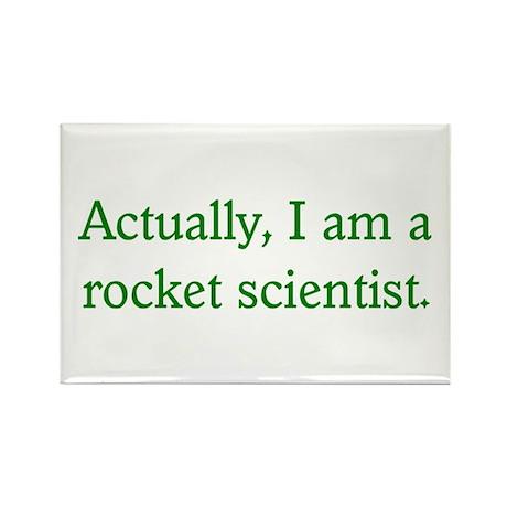 Rocket Scientist Rectangle Magnet (100 pack)