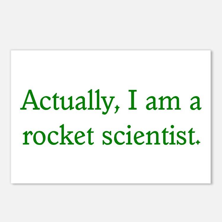 Rocket Scientist Postcards (Package of 8)