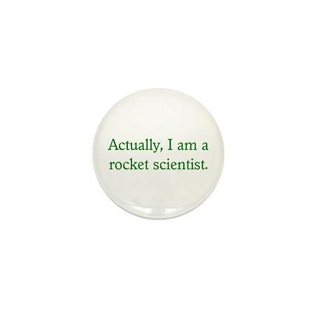 Rocket Scientist Mini Button (10 pack)