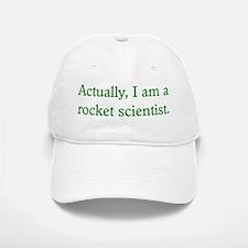 Rocket Scientist Baseball Baseball Cap