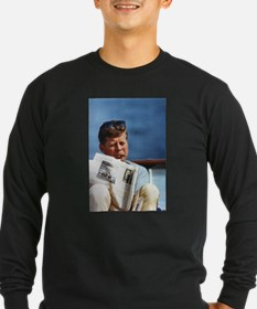 JFK Smoking Long Sleeve T-Shirt