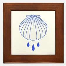BAPTISM SHELL Framed Tile