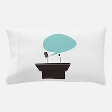 Speech_Base Pillow Case