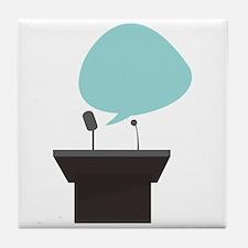 Speech_Base Tile Coaster