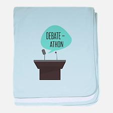 Debate-Athon baby blanket