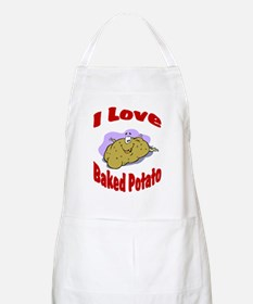 Baked potato BBQ Apron