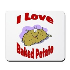 Baked potato Mousepad