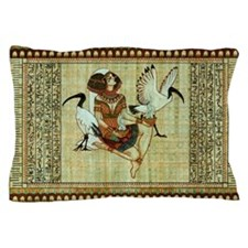 Cute Ancient egypt egyptian pharaoh Pillow Case