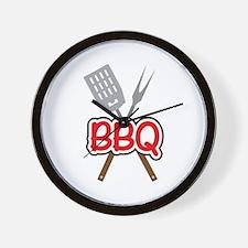 BBQ Wall Clock
