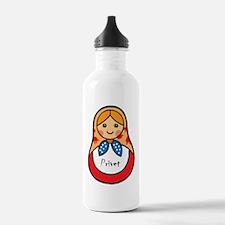 Matryoshka Russian Woo Water Bottle
