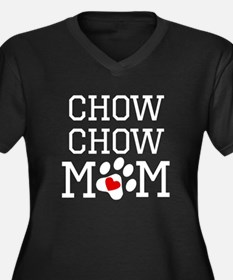 Chow Chow Mom Plus Size T-Shirt