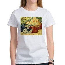 Impressionist Painting of cats T-Shirt