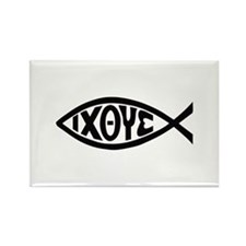 ICHTHUS FISH Magnets