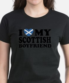 I Love My Scottish Boyfriend Tee
