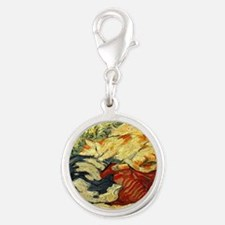 Impressionist Painting of cats Charms