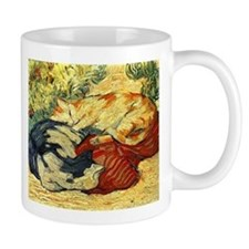 Impressionist Painting of cats Mugs