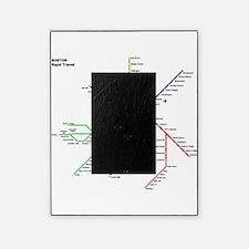 Boston Rapid Transit Map Subway Metr Picture Frame