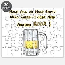 Half Beer Puzzle