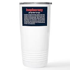 Cute Ineptocracy Travel Mug