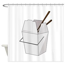 Takeout Shower Curtain