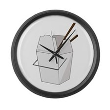 Takeout Large Wall Clock