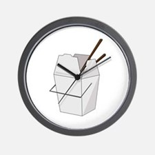 Takeout Wall Clock