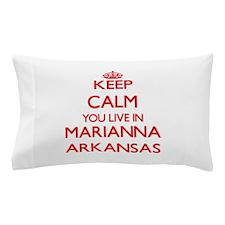 Keep calm you live in Marianna Arkansa Pillow Case