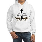 Moose hunter Gifts T-shirts Hooded Sweatshirt