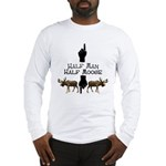 Moose hunter Gifts T-shirts Long Sleeve T-Shirt