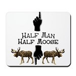 Moose hunter Gifts T-shirts Mousepad