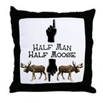 Moose hunter Gifts T-shirts Throw Pillow