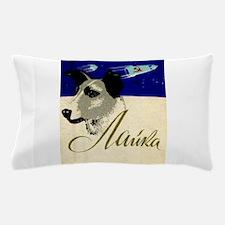 Laika Dog Cosmonaut USSR Space Vintage Pillow Case