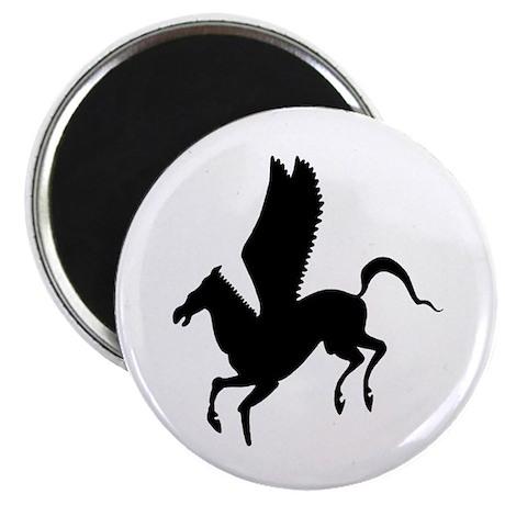 "Pegasus Silhouette 2.25"" Magnet (10 pack)"