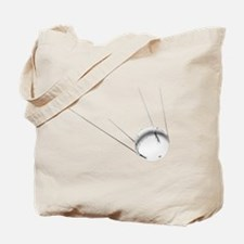 Funny Satellite radio Tote Bag