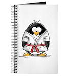Martial Arts red belt penguin Journal